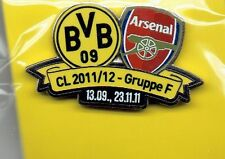 BVB Begegnungs Pin Arsenal London Champions League  NEU
