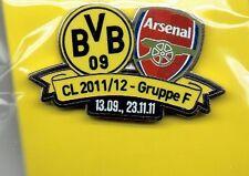 BVB Begegnungs Pin Arsenal London Champions League  NEU