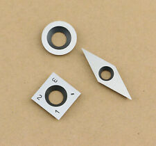 1# Carbide Inserts Cutter Set for Wood Turning Working Lathe Tool,Pack of 3