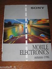 *AO29=SONY MOBILE ELECTRONICS=PUBBLICITA'=ADVERTISING=WERBUNG=COUPURE=