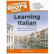 Learning Italian - Complete Idiot's Guide by Gabrielle Ann Euvino (2012,...