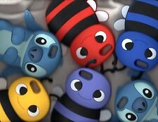 Apple iPhone 5 5S New Stitch Bee Cartoon Silicone Soft Cover Case Skin Protector