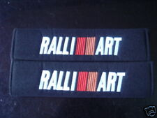 CAR RALLIART Seat Belt Cover Shoulder pads X TWO PIECES