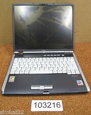 """Fujitsu Siemens Lifebook s7010 14 """"ORDENADOR PORTÁTIL, Pentium M, N ° Ram, Sin Disco Duro, de recambio y reparación"""