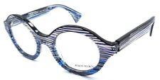 Alain Mikli Rx Eyeglasses Frames A03020 3089 48x22 Crystal Blue Black Wires