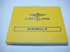 BREITLING AIRWOLF WATCH INSTRUCTION MANUAL BOOK