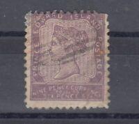 Prince Edward Island QV 1862 9d Dull Mauve SG8 VFU J6102