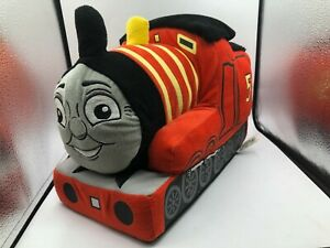 Large Thomas The Tank Engine And Friends James Red Train Plush Kids Stuffed Toy