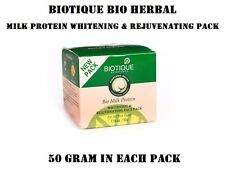 9 PACK OF BIOTIQUE MILK PROTEIN PACK NOURISH YOUR DULL & LIFELESS SKIN INSTANTLY