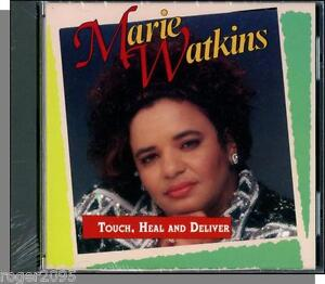 Marie Watkins - Touch, Heal and Deliver - New 1994 Christian CD!