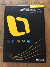 MS Office 2008 Business Edition DE für MAC, Retail update mit MwSt-Rechnung