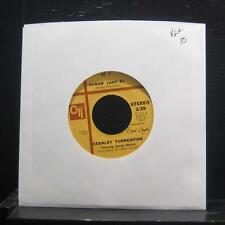 """Stanley Turrentine-  Sugar (Part One) / (Part Two) 7"""" VG+ CT 513 CTI Records 45"""