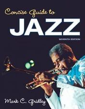 (Electronic Book) Concise Guide to Jazz, by Mark C. Gridley (7TH EDITION)