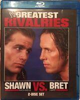 WWE: Greatest Rivalries - Shawn Michaels vs. Bret Hart [Blu-ray] ****NEW***