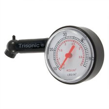 Dial Tire Gauge Pressure Air Measure 5-50 PSI for Truck, Cars, Motorcycle, Bikes