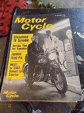 Motor Cycle/28oct1965/PUCH Cheetah/Yamaha Two-Stroke Service/B.B.C. Scramble