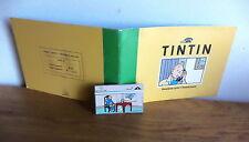 carte téléphonique tintin 3000 ex deuxième de la série Hergé