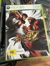 street fighter IV xbox 360 (works on Xbox One)