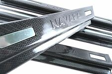 KEVLAR BLACK SCUFF PLATE SILL COVER FOR NISSAN NAVARA NP300 4 DOOR D23 2015-ON