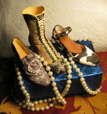 Just the right shoe - Lot-3- Washing Wedding,Deco Boot, Bovine Bliss- No box's
