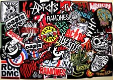 WHOLESALE Lot 51 Heavy Metal Punk Hard Rock Band Music  Embroidery Iron patch #5