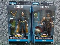 Marvel Legends Thor Ragnarok Wave 1 HULK BAF Series THOR & LOKI Action Figures