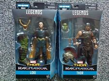 Marvel Legends Thor Ragnarok Wave 1 Hulk BAF Series Thor & Loki figurines
