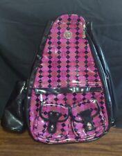 Whak Sak Backpack Tennis Laptop Sport Travel School Purple Black ml