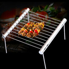 Portable Stainless Steel Folding Bbq Grill Outdoor Camping Pocket Barbecue Tool