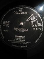 "Cliff Richard – Marianne Vinyl 7"" Single UK DB 8476 1968"