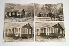 Parker Pond CASCO ME Maine Antique Real Photo Postcard Lot Jellisons Cottages
