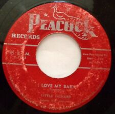 LITTLE RICHARD 45 I LOVE MY BABY / Maybe I'm right PEACOCK R&B D2254