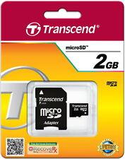 Transcend Micro SD Karte 2GB Speicherkarte