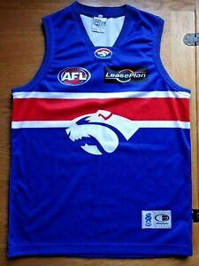 Western Bulldogs Australia Diadora AFL shirt jersey Size XL Aussie Rules Footbal