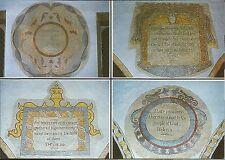 17th Century Wall Paintings St Michael & All Angels Church Hawkshead Cumbria