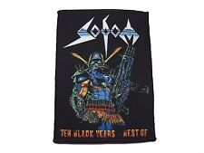 sodom the black years   woven patch