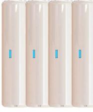 4 x Digital Vibration Shock Detector for WIRED Intruder Burglar Alarm Systems