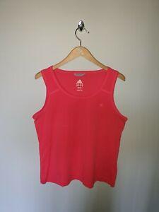 Women's ADIDAS Climalite Stretch Training Gym Vest Tank Top Size U.K 16-18