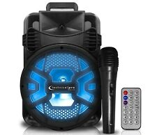 New Technical Pro Rechargeable Bluetooth LED Speaker with USB/SD Card & FM Radio