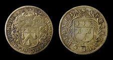 Touraine Noblesse et Ville Isaac TOUCHELEE Maire de Tours 1653 - Laiton - F8351