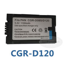 Battery for Panasonic CGR-D08R NV-DS29B NV-DS15 NV-DS8 Camcorder
