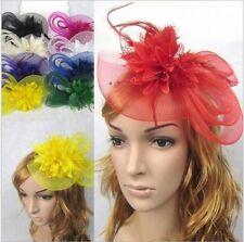 NEW Fancy Party Headband Women Derby Fascinator Hat Wedding Victorian Style Hats