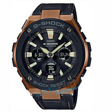 Brand New Casio G-Shock  GST-S120L-1A Tough Leather Band Watch