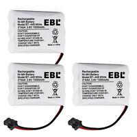 3x 3.6V 1000mAh Cordless Phone Battery for Uniden BT-446 BP-446 BT-1005 ER-P512