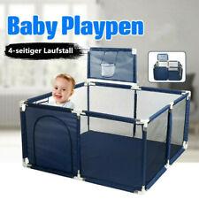 Baby Laufstall Kinderzaun GartenSpielzeug Draussen Spielhaus mit Basketballkorb