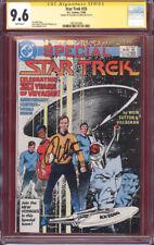 Signed William Shatner CGC SS 9.6 Star Trek Annual #33 ~ TOS 20th Anniversary