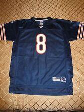 Youth XL18/20 Reebok Chicago Bears Twill #8 Grossman Sewn On Jersey