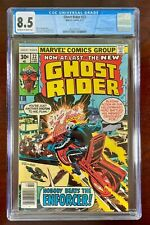 GHOST RIDER #22 CGC 8.5 (MARVEL 1977) 🔑 1ST APPEARANCE OF THE ENFORCER