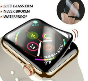 Apple Watch Series 6 5 4 3 2 1 3D Curved Edge HD Screen Protector