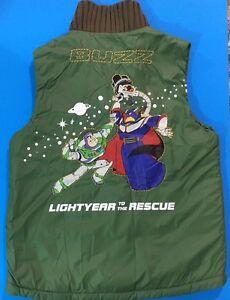 Boys Disney Puffer Vest-Toy Story-Buzz Lightyear-Sector Protector-Medium